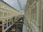 The interior of GUM, the mall on Red Square in Moscow. Photo credit: M. Ciavardini