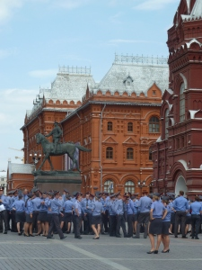 law enforcement officers outside Red Square 2012-07-17 07.19.50-2165 (2)