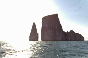 Kicker Rock in the Galapagos Islands, Ecuador
