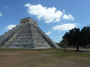 Society at Chichen Itza in Yucatan, Mexico is too often remembered for the human sacrifices and not for its impressive engineering. Photo credit: M. Ciavardini