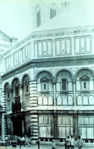Memories of my first visit to Firenze had faded. Here, the Duomo, 1989. Photo credit: L. Tripoli